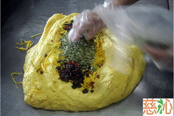 發酵、製成饅頭